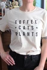 Yonder Studios Coffee + Cats + Plants Tee