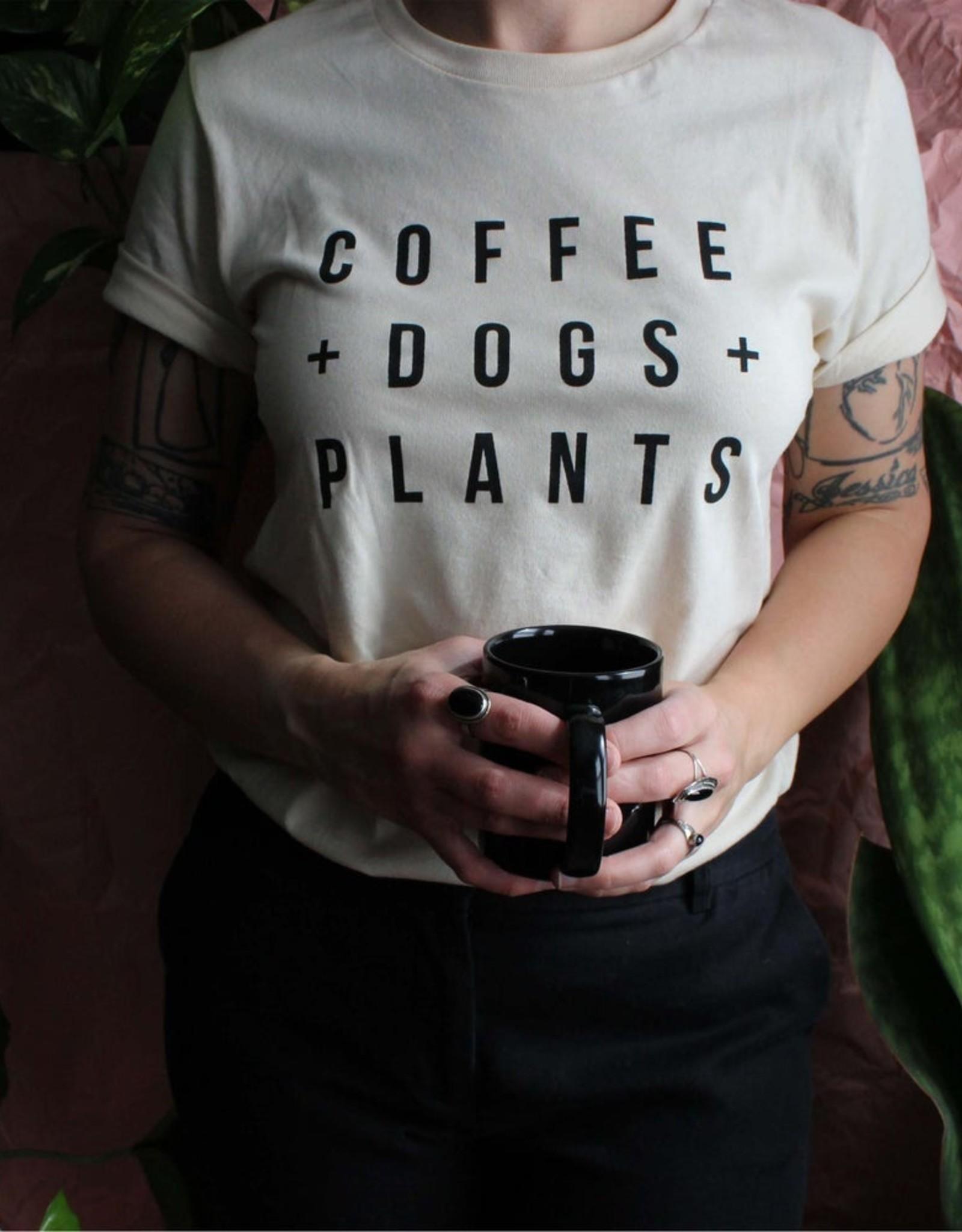 Yonder Studios Coffee + Dogs + Plants Tee