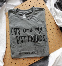 Yonder Studios Cats are my Best Friends Tee by Yonder Studios