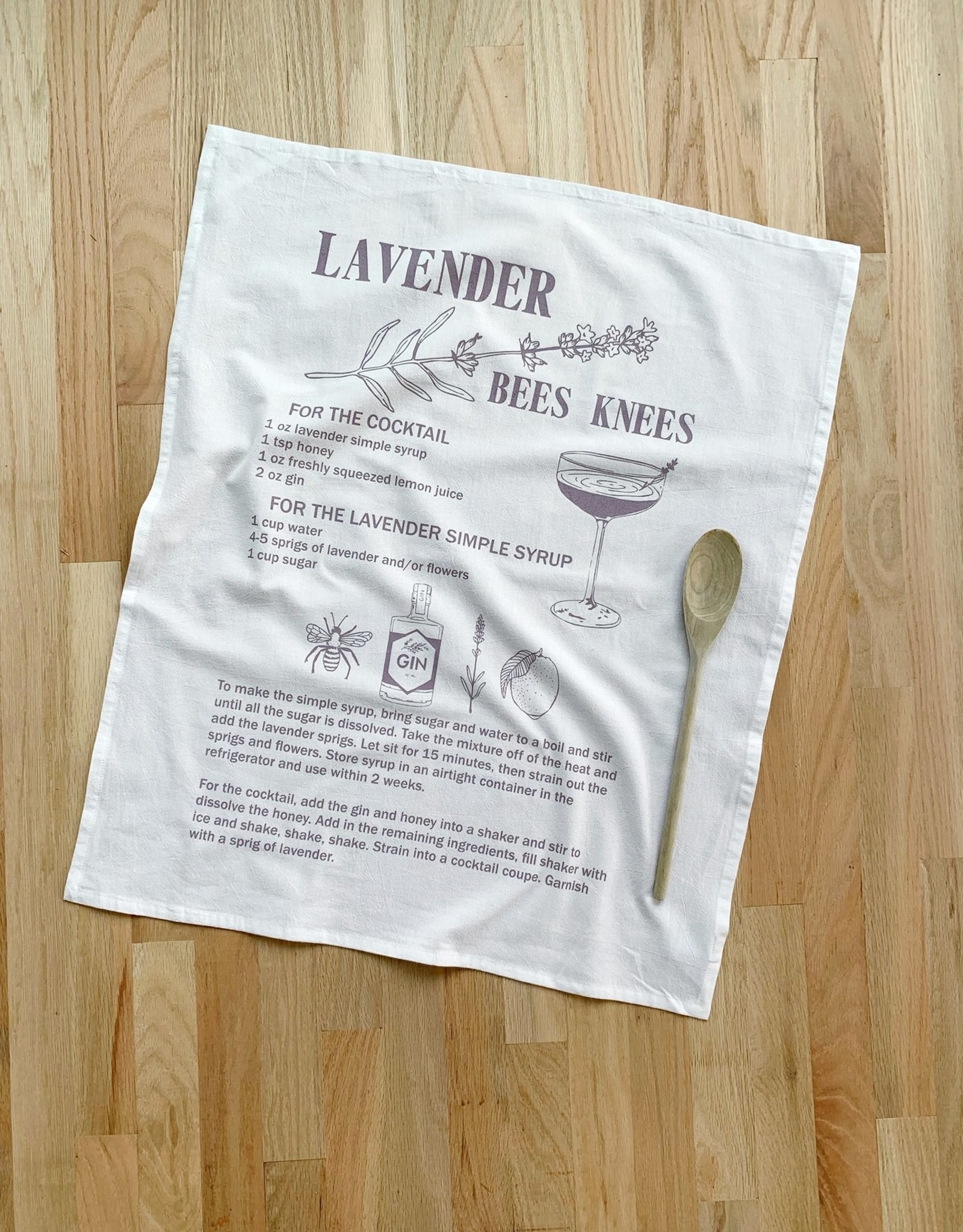 Oh Little Rabbit Cotton Flour Sack Towels by Oh Little Rabbit