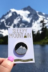 Sleepy Mountain Assorted Enamel Pins by Sleepy Mountain