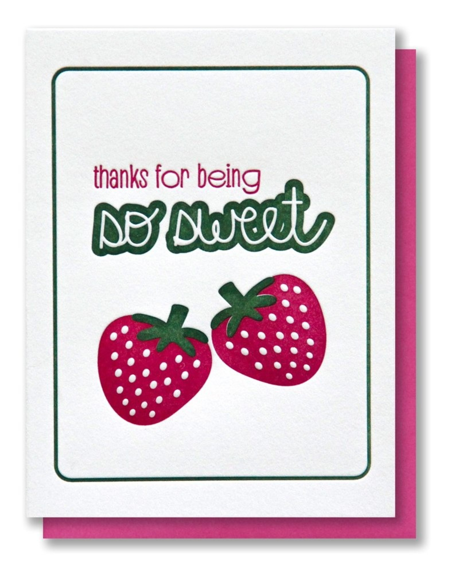 Kiss and Punch Letterpress Greeting Cards by Kiss and Punch