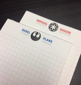 Skylab Letterpress Star Wars Notepads by Skylab Letterpress
