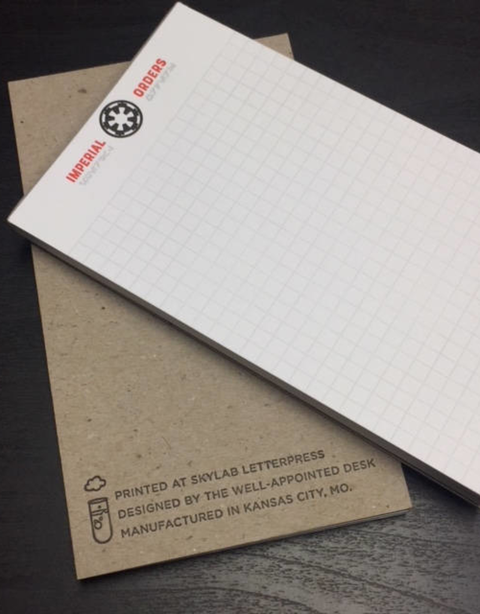 Skylab Letterpress Star Wars Notepads by Skylab Letterpress