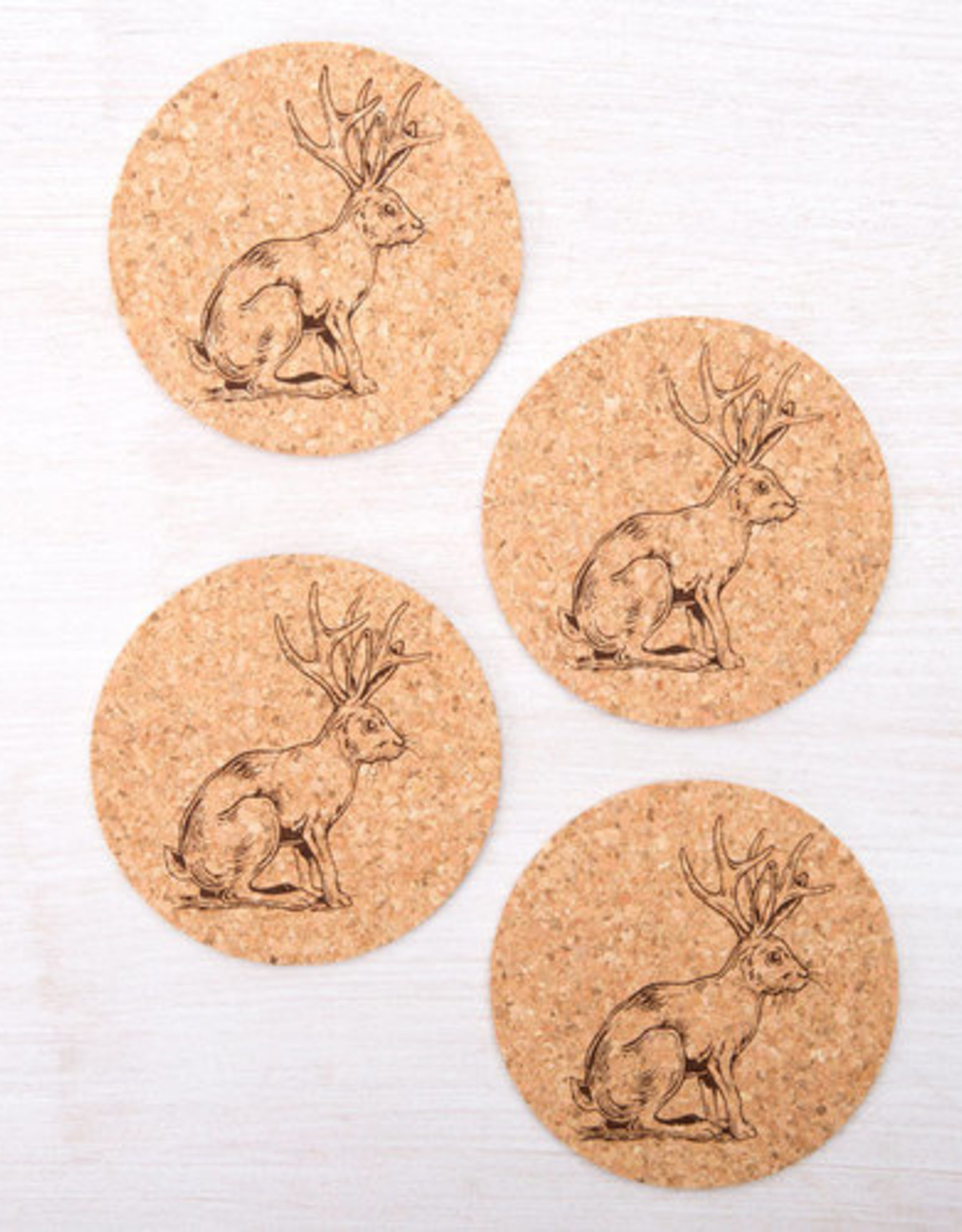 Counter Couture Assorted Cork Coaster Sets by Counter Couture