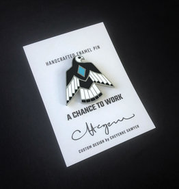 Phoenix Woodworking Handcrafted Enamel Pins by Phoenix Woodworking