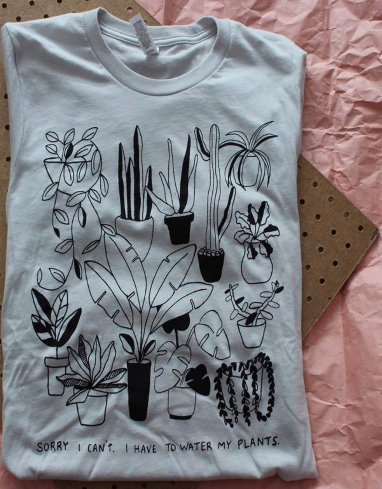 Yonder Studios Water My Plants Shirt by Yonder Studios