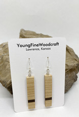 YoungFineWoodcraft Wooden Earrings by YoungFineWoodcraft