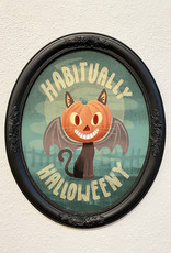 "Matthew Hawkins ""Habitually Halloweeny"" Framed Canvas by Matthew Hawkins"