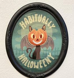 "Matthew Hawkins ""Habitually Halloweeny"" Framed Canvas by Matthew Hawkins"