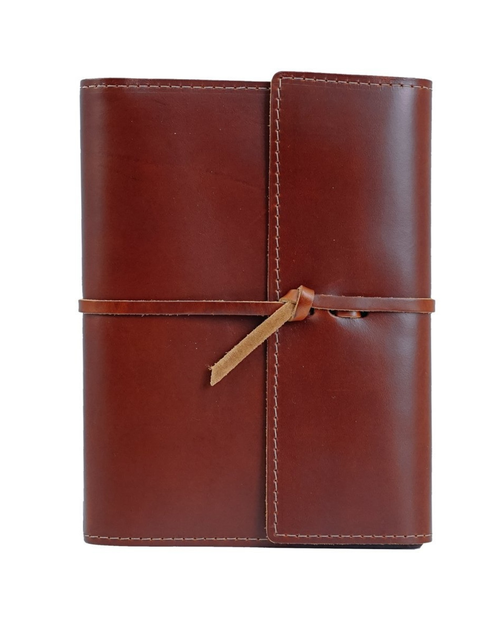 Rustico Writers Log Large Refillable Leather Notebook