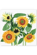 May We Fly Sunflower Print by May We Fly