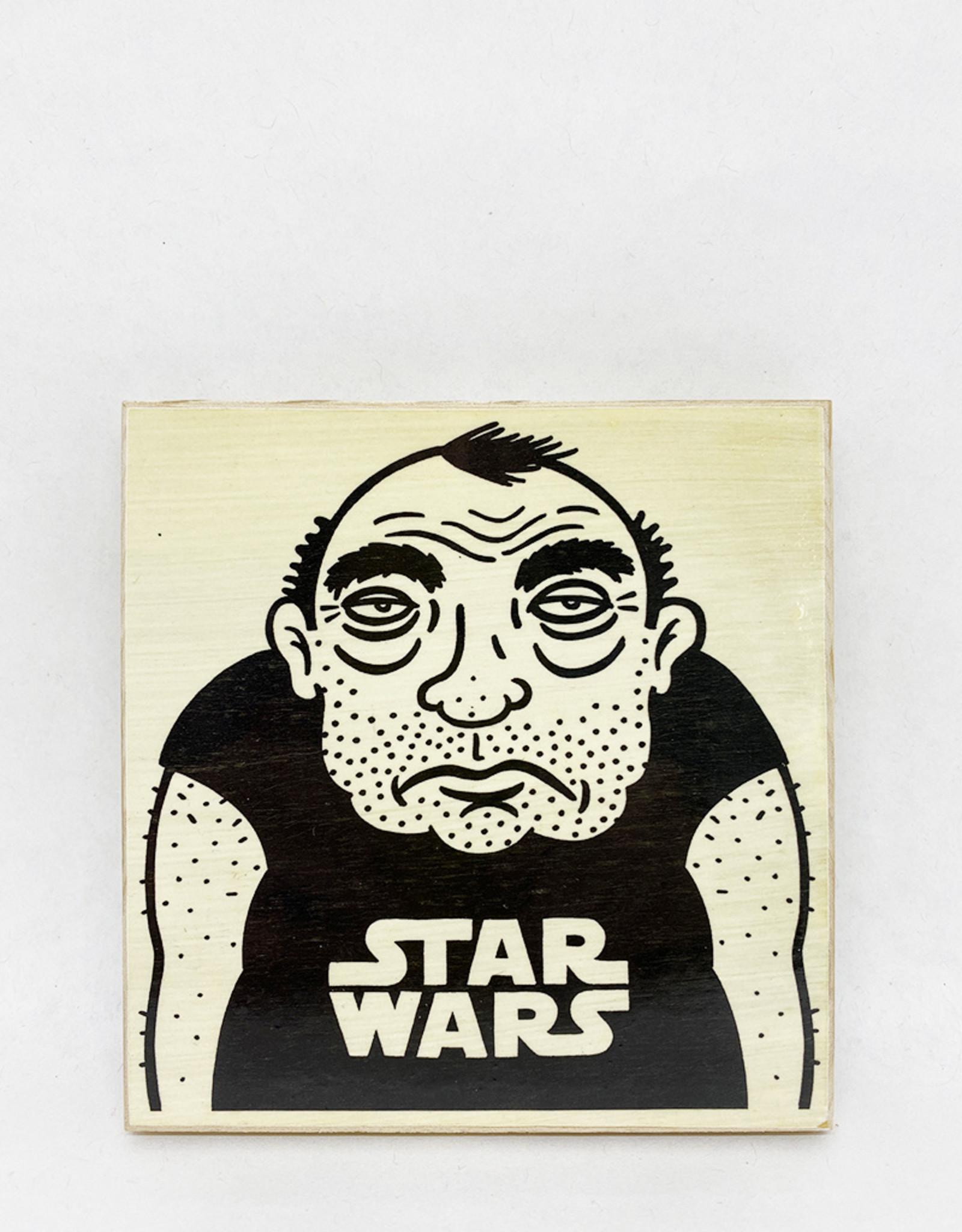 Dick Daniels Star Wars Image Transfer on Wood Block
