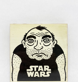Dick Daniels Star Wars Image Transfer on Wood Block