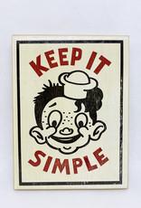 Dick Daniels Keep It Simple Image Transfer on Wood Block