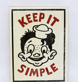 Dick Daniels Keep It Simple Image Transfer on Wood Block