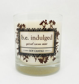b.e. nurtured Be Indulged Soy Pillar Candle