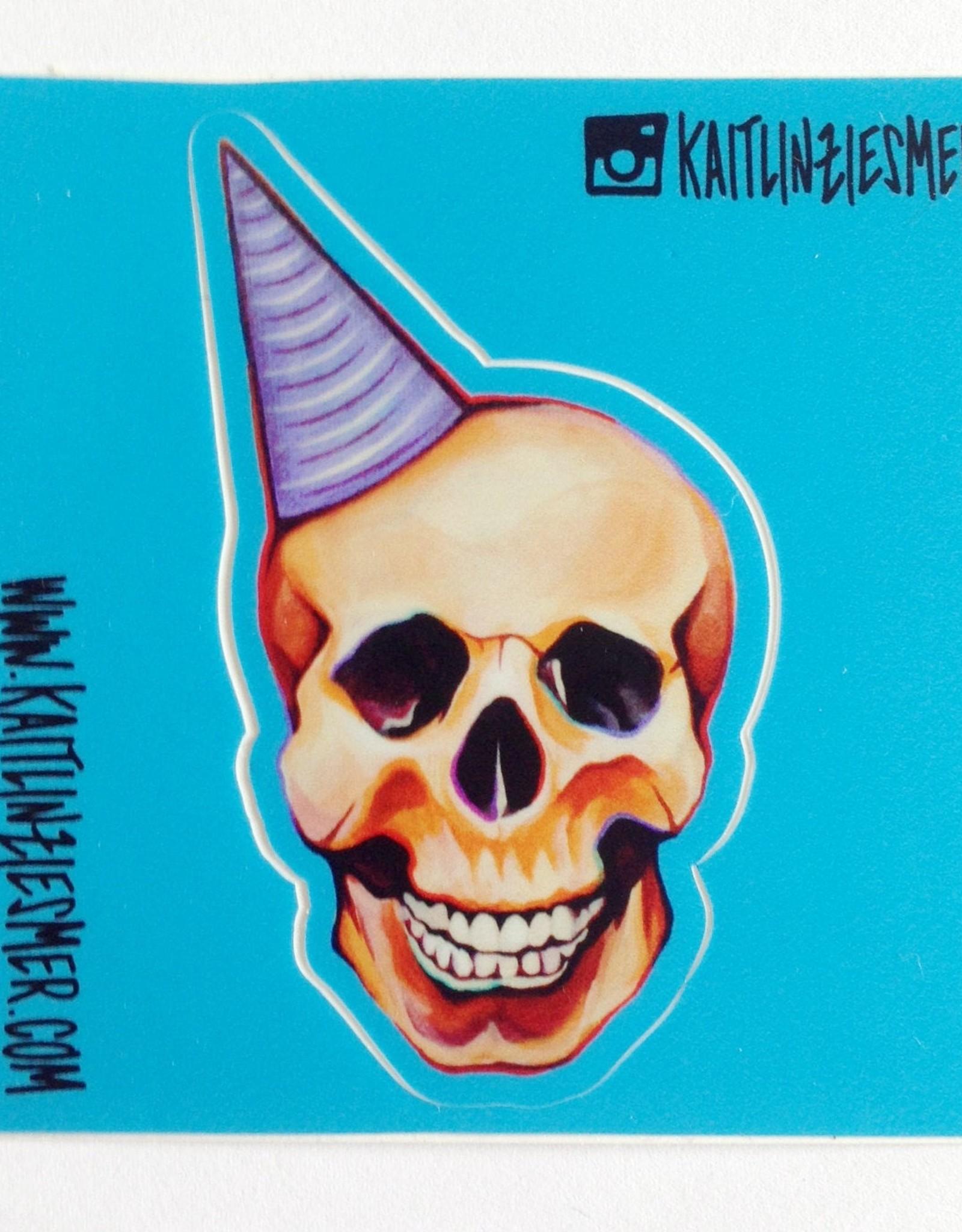 Kaitlin Ziesmer Diecut Stickers by Kaitlin Ziesmer