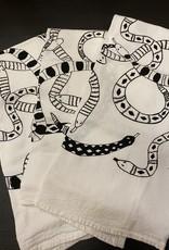 Yonder Studios Assorted Screen Printed Tea Towels by Yonder Studios