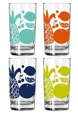 Erin Flett Juice Glasses by Erin Flett