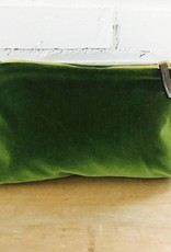 Erin Flett Velvet Zipper Bag by Erin Flett