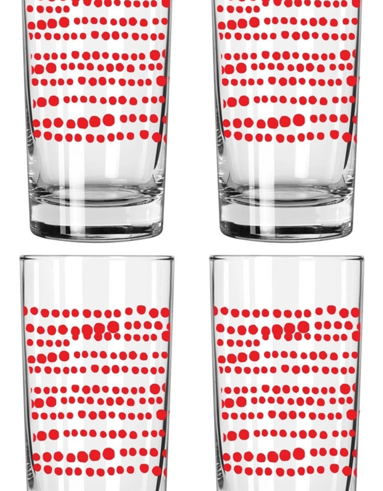Erin Flett Drinking Glasses by Erin Flett