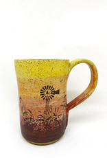 Melanie Harvey Pottery Prairidise Mugs by Melanie Harvey