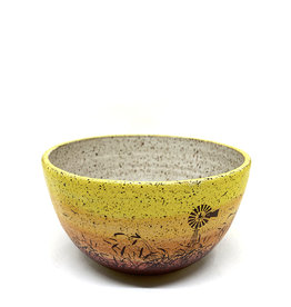 Melanie Harvey Pottery Prairidise Bowls by Melanie Harvey Pottery
