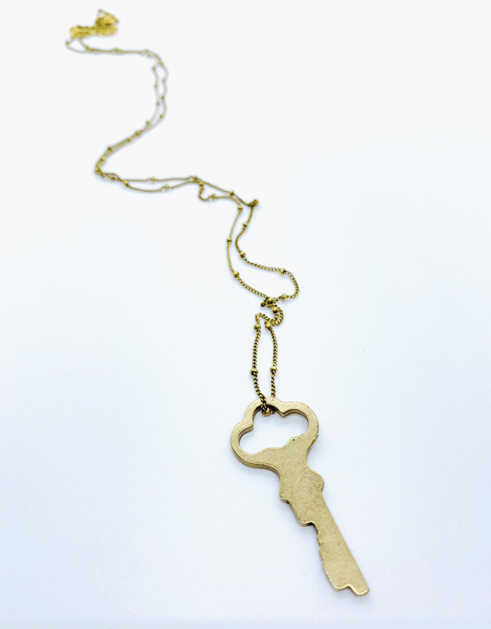 Tilly Doro Key Necklace // Tillydoro
