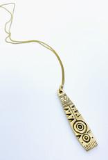 Tilly Doro Tribal Pattern Necklace // Tillydoro