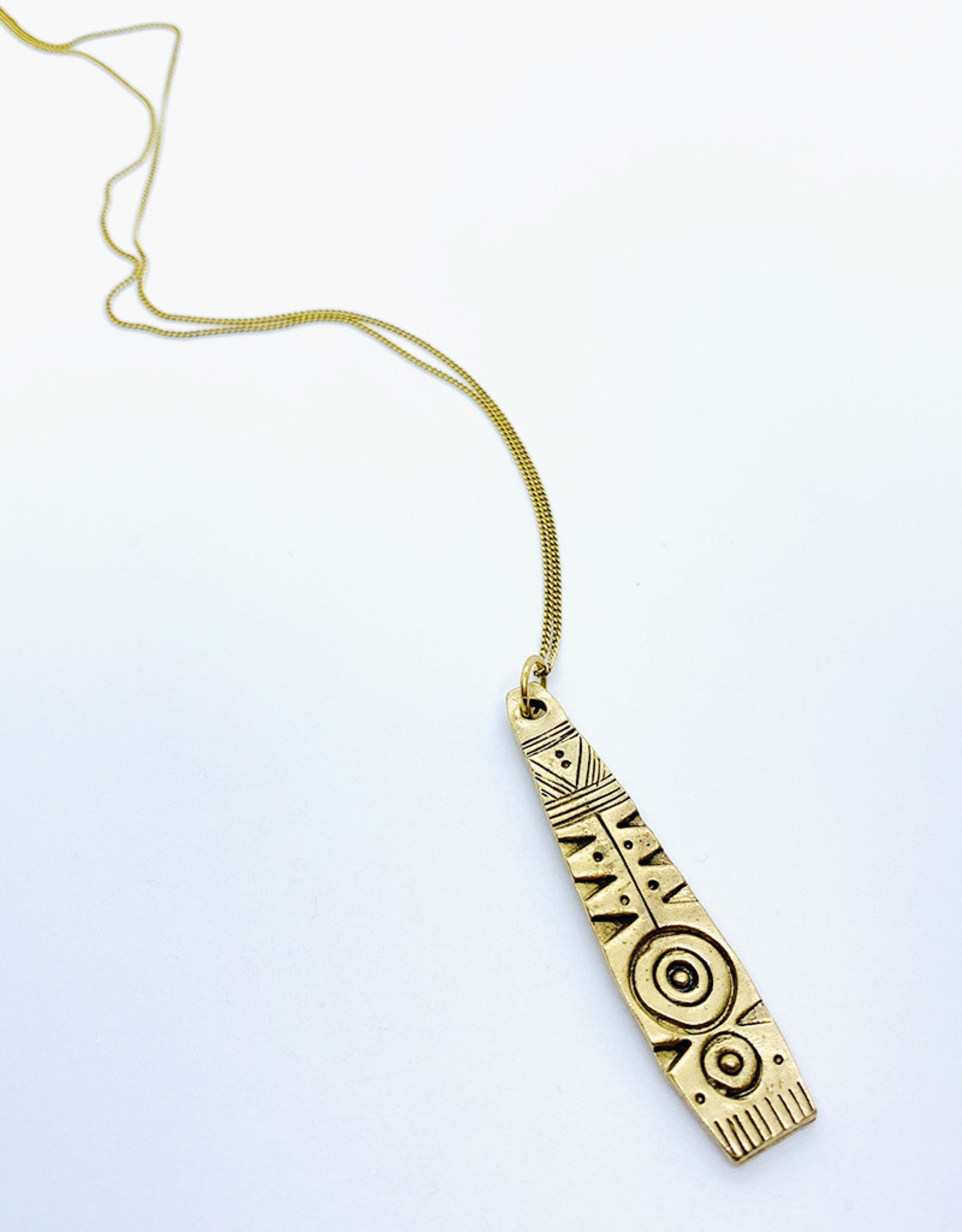 Tillydoro Tribal Pattern Necklace // Tillydoro