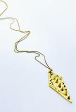 Tilly Doro Textured Diamond Necklace // Tillydoro