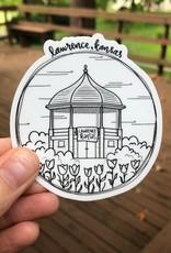 doodlestation Assorted Lawrence KS Stickers by DoodleStation