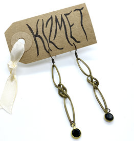 kizmet jewelry Swarovski Drop Earrings by Kizmet Jewelry