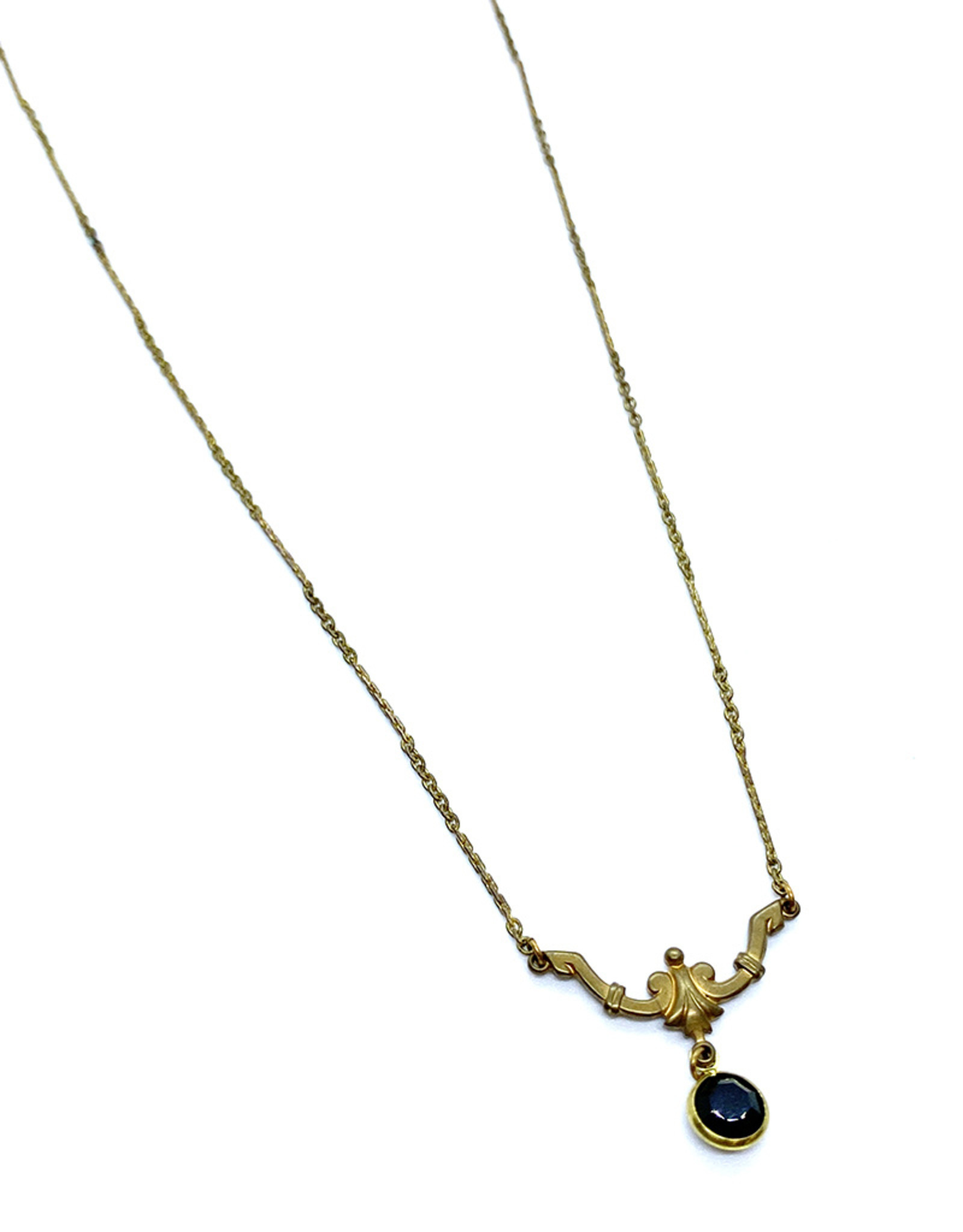 kizmet jewelry Black Jewel Necklace by Kizmet Jewelry