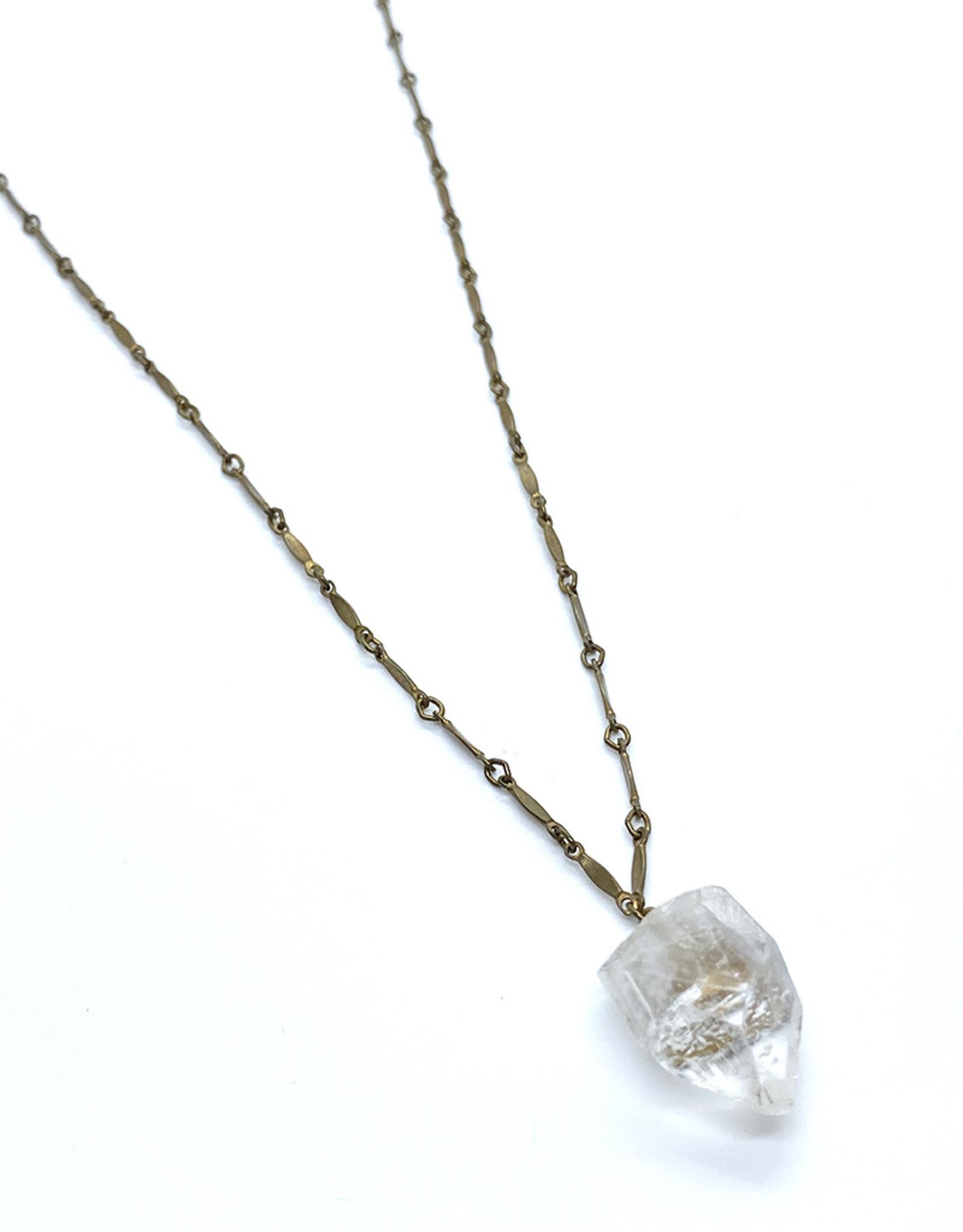 kizmet jewelry Apophyllite Necklace by Kizmet Jewelry