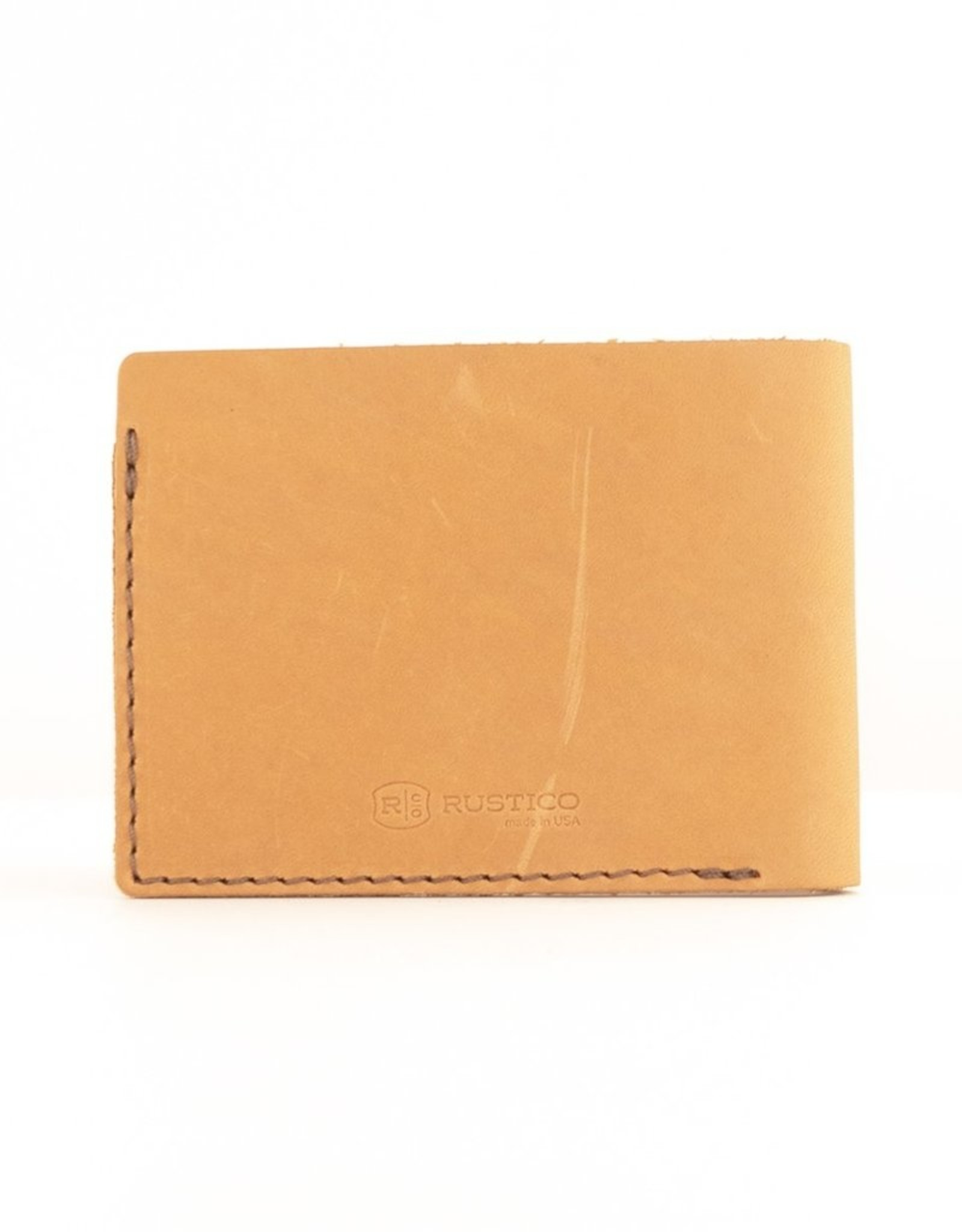 Rustico Benjamin Bifold Leather Wallet