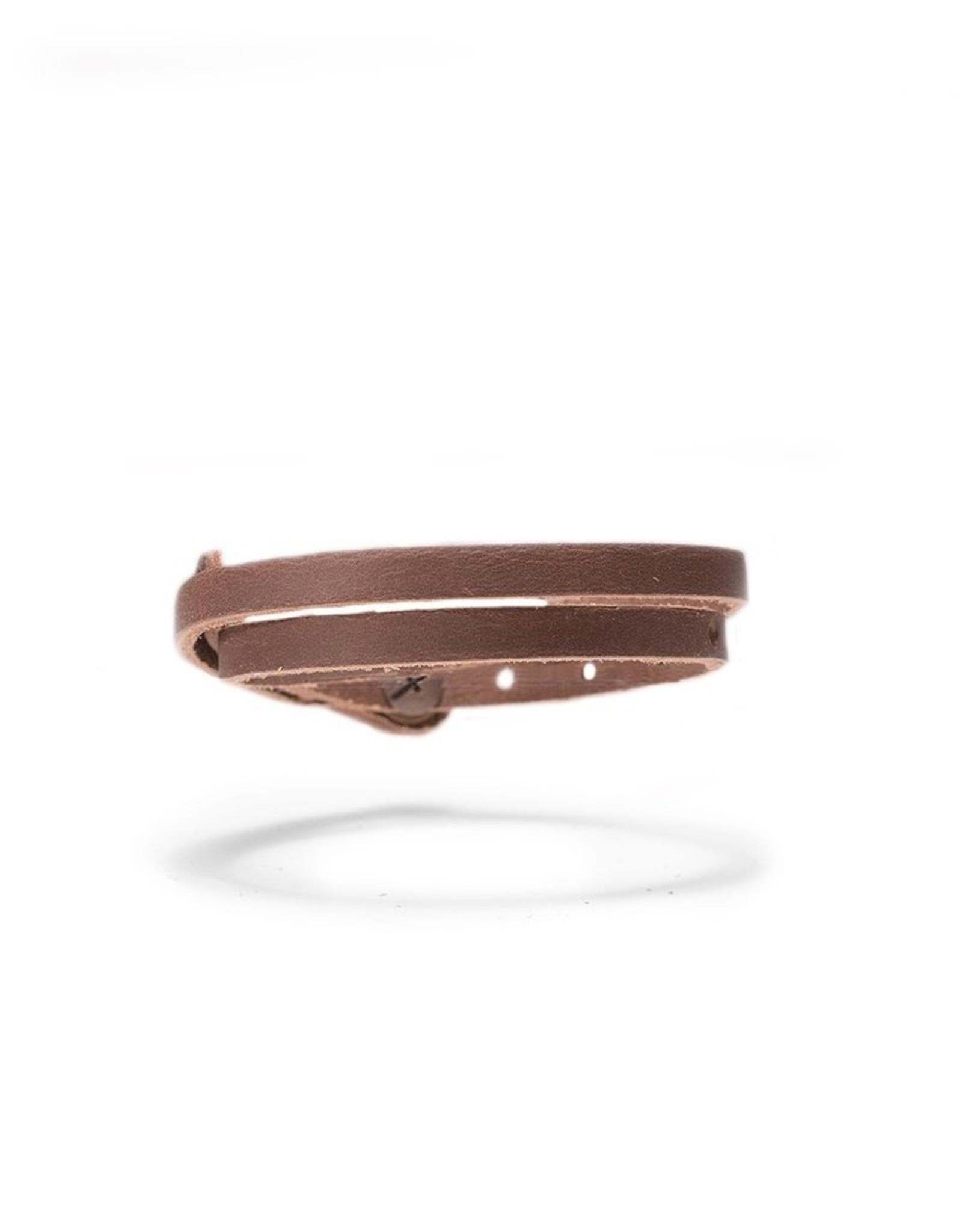 Rustico Skinny Leather Bracelet by Rustico