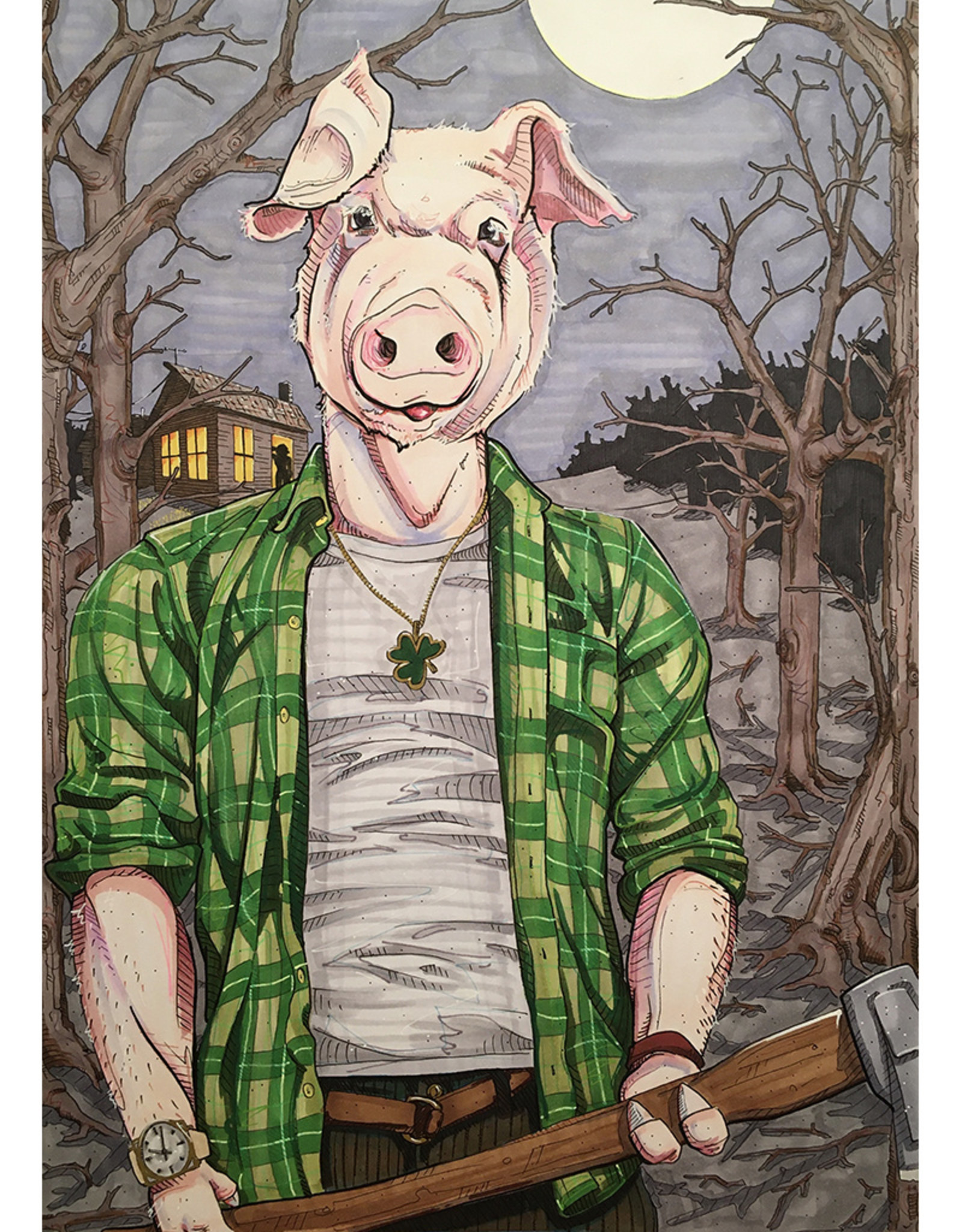 Ripp Harrison The Stick Pig // Ripp Harrison