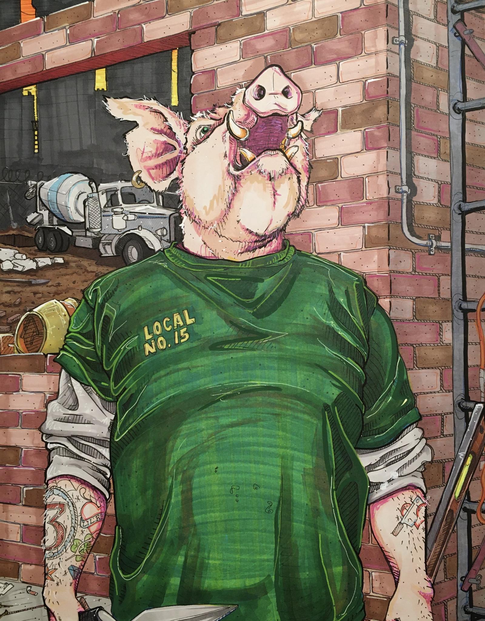 Ripp Harrison The Brick Pig // Ripp Harrison