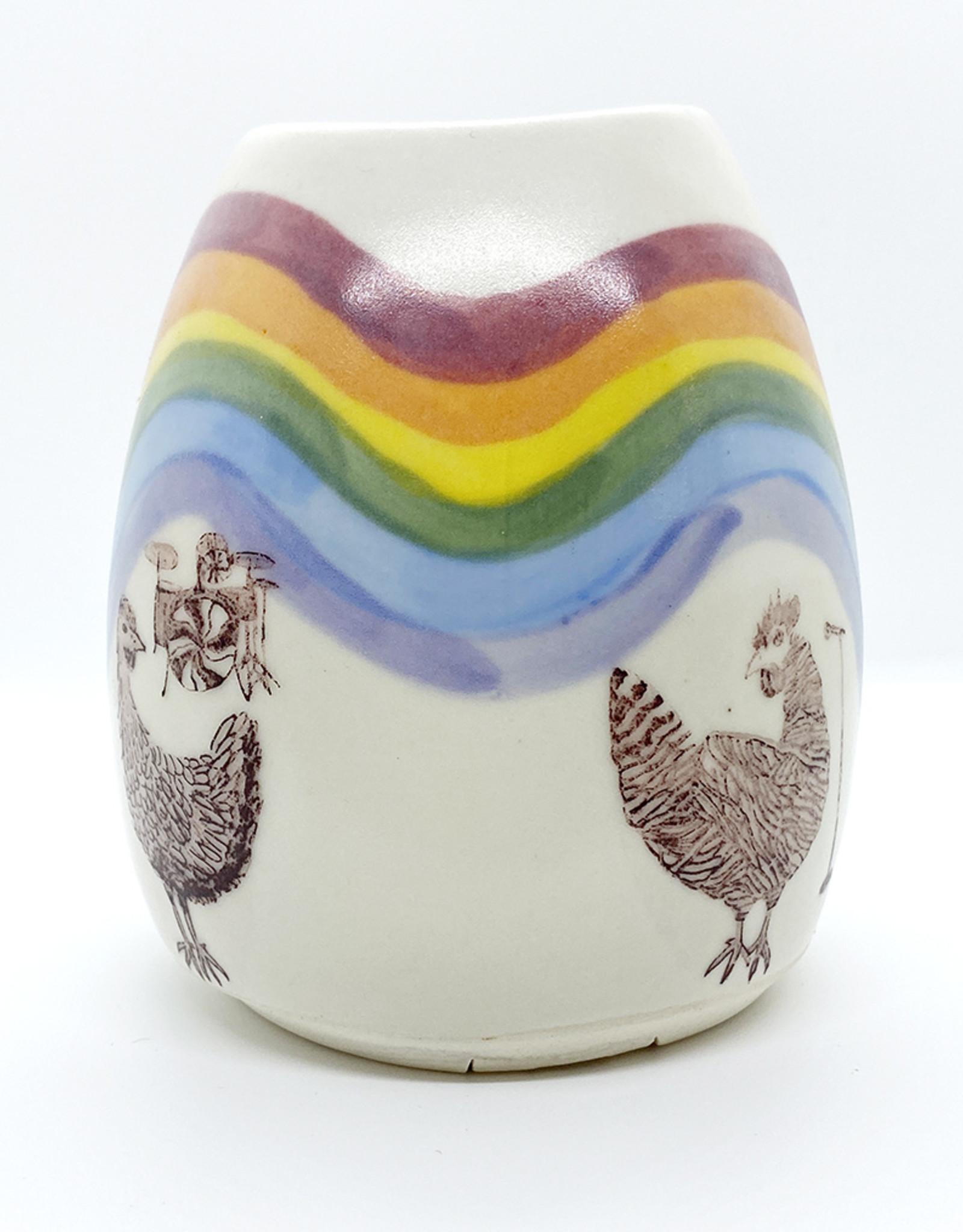 Melanie Harvey Pottery Stoneware Vases by Melanie Harvey Pottery