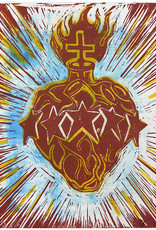 Paul Punzo Sacred Heart Print by Paul Punzo