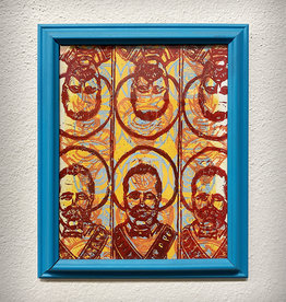 Paul Punzo Framed Poncho Villa Print by Paul Punzo