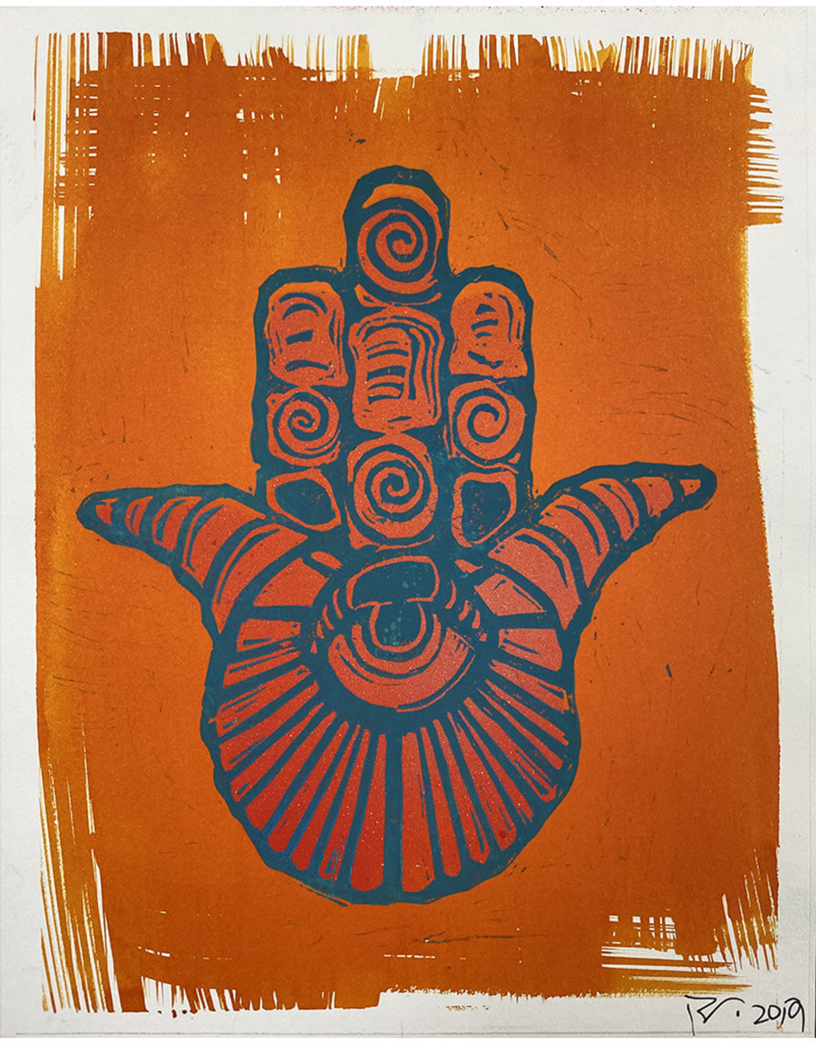 Paul Punzo Hamsa Prints by Paul Punzo