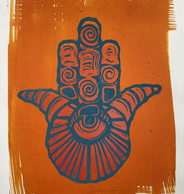 Paul Punzo Hamsa Prints by Paul Punzo