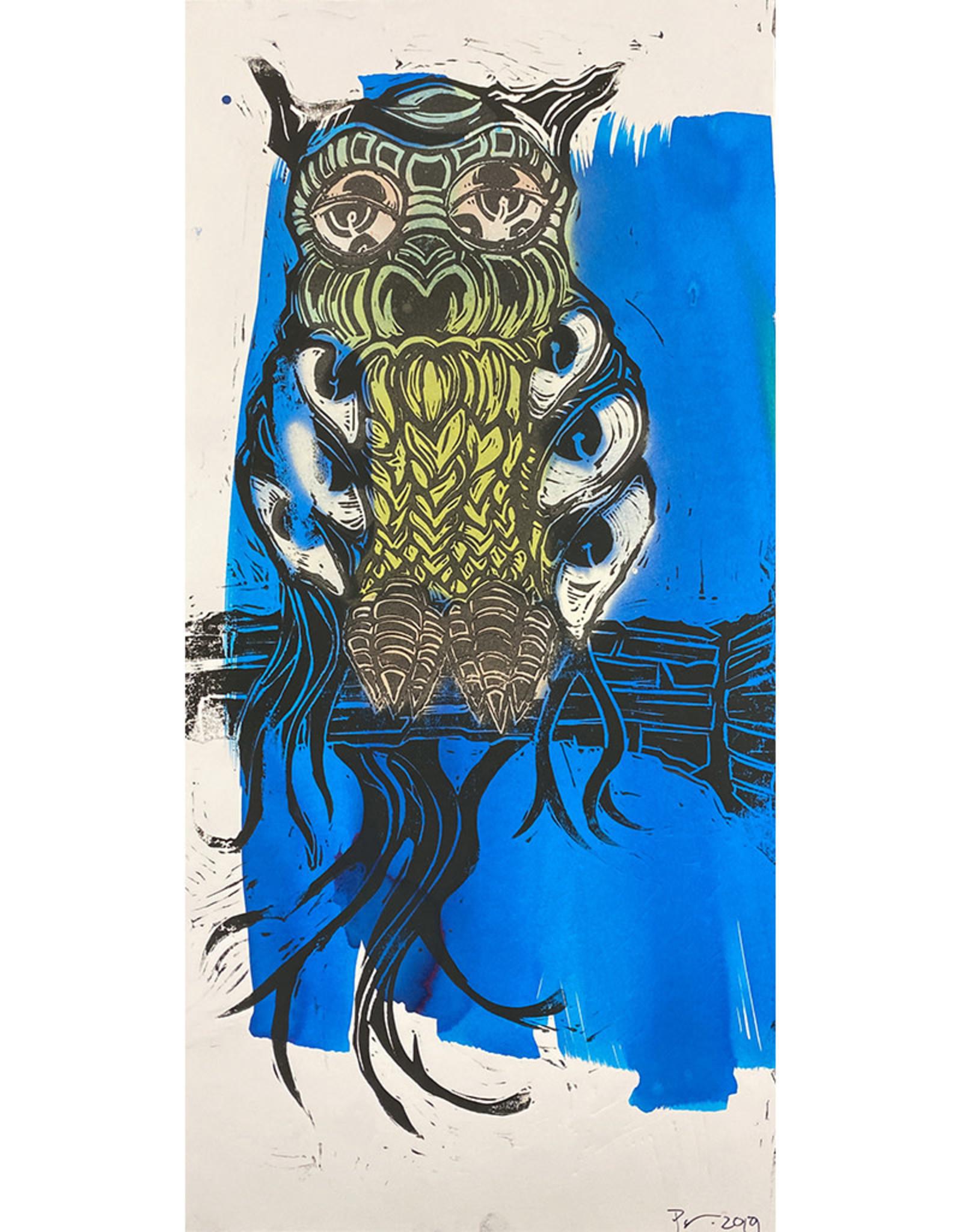 Paul Punzo Assorted Owl Prints by Paul Punzo