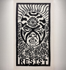 "Paul Punzo ""Resist"" Print on Canvas on Wood Frame by Paul Punzo"