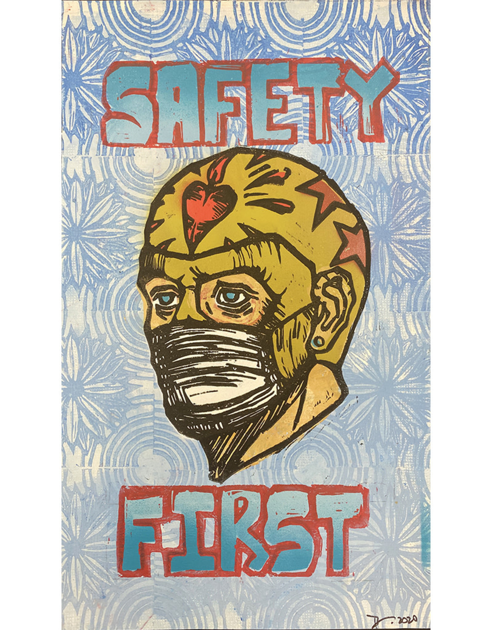 """Paul Punzo """"Safety First"""" Print by Paul Punzo"""