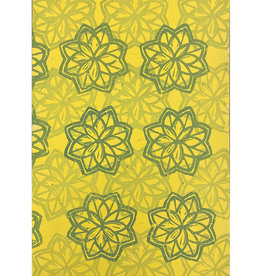 Paul Punzo Flowers Wallpaper Print by Paul Punzo