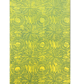 Paul Punzo Flowers + Circles 2 Wallpaper Print by Paul Punzo